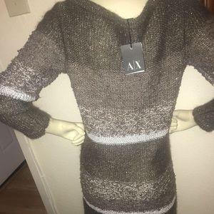 Armani Exchange Sweater Dress NWT